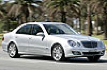 Mercedes-Benz E500 Avantgarde. Picture: Eddie Jim