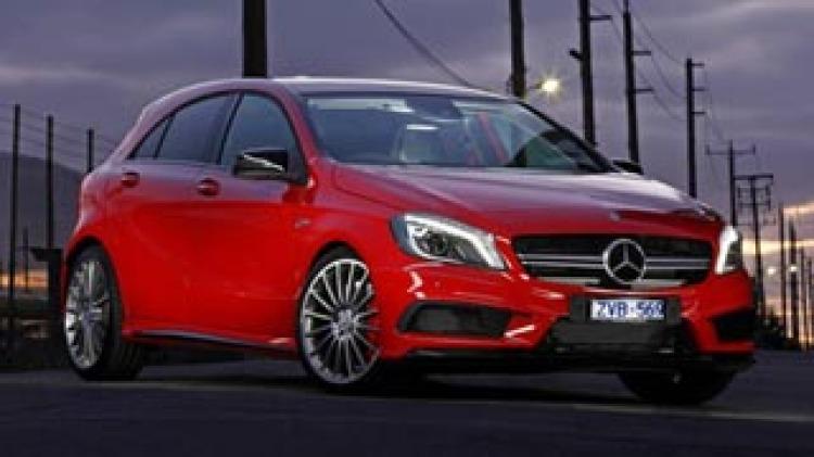 Mercedes-Benz A45 AMG new car review