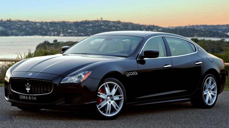 Maserati Quattroporte GTS.