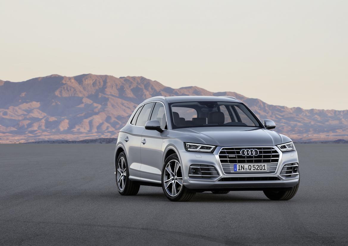 Audi Unveils Second Generation Q5 In Paris