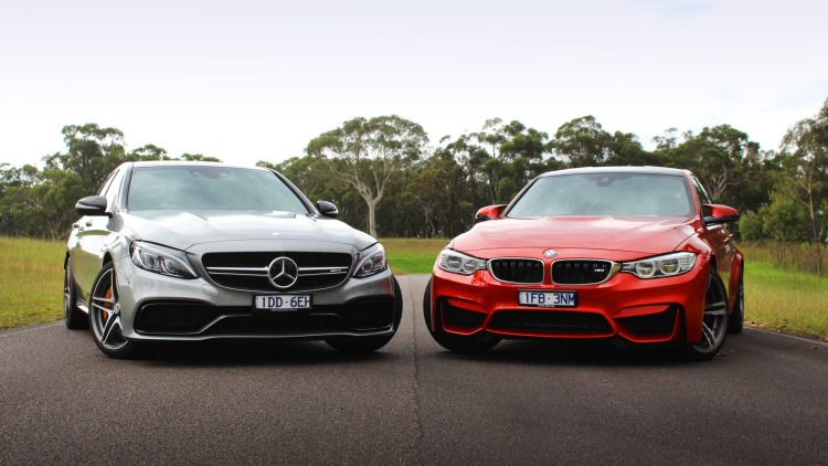The new Mercedes-AMG C63 S takes on BMW's M3.