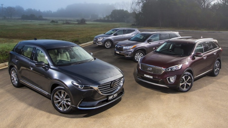 The all-new Mazda CX-9 has arrived with much fanfare, but can it topple the segment benchmarks the Kia Sorento, Toyota Kluger and Hyundai Santa Fe.