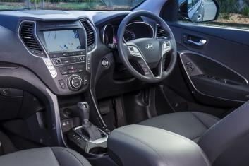 Seven seat SUV comparison test: Hyundai Santa Fe