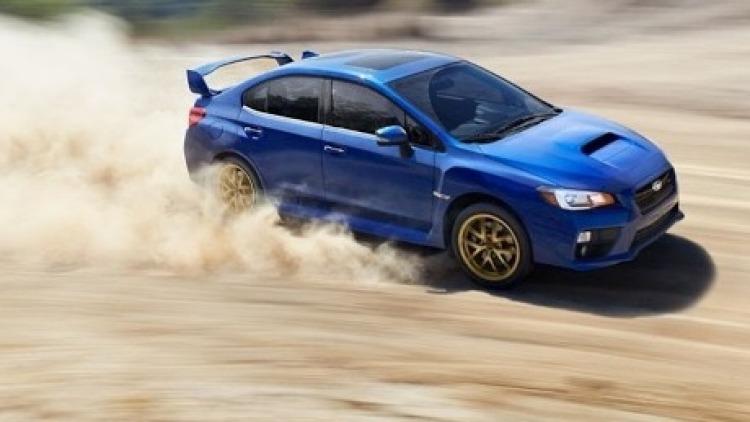 The 2014 Subaru WRX STi.