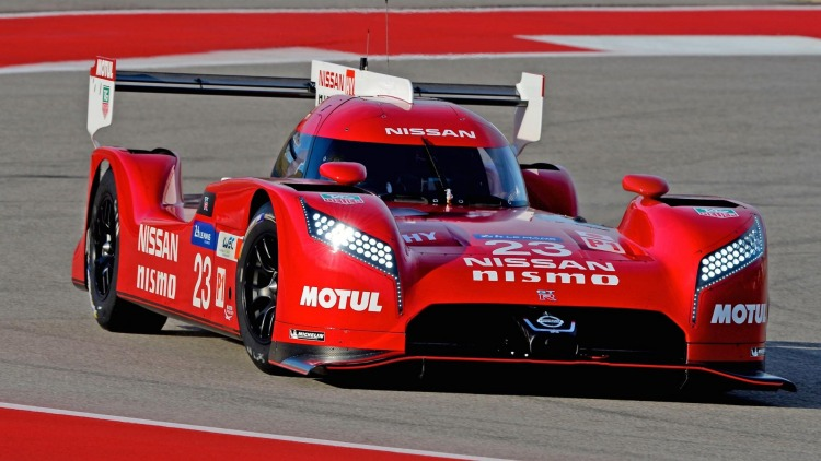 2015 Nissan GT-R LM prototype that featured in last year's Le Mans 24 Hour.