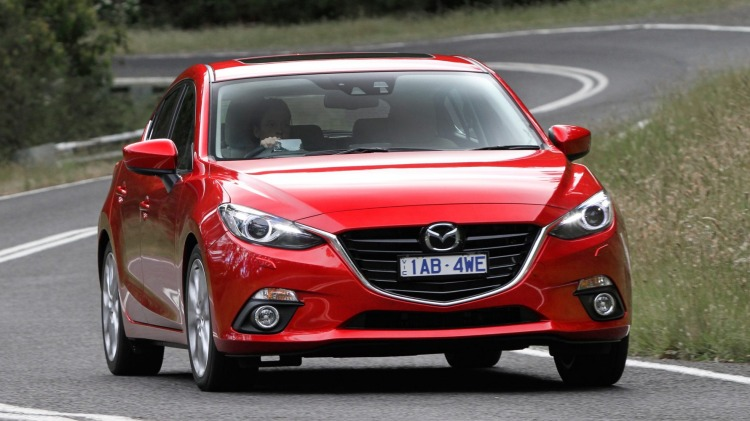 The Mazda3 will be updated in late 2016.