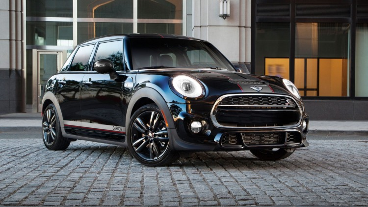 The Mini Carbon Edition is based on the Cooper S five-door.