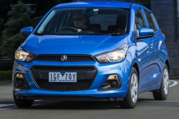 City car comparison: Holden Spark