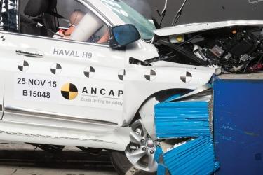 Haval H9 scores four-star ANCAP crash rating