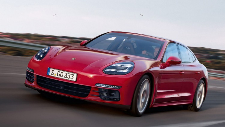 Illustrations reveal how the new Panamera will look.