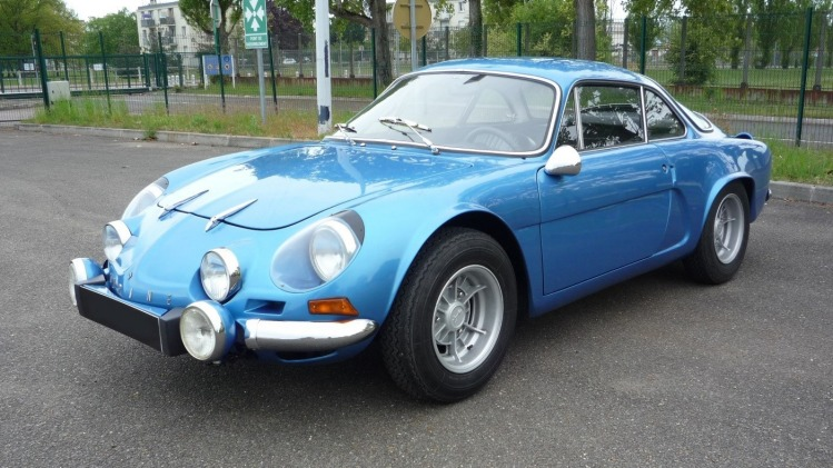 Renault Alpine A110 is one of the best examples of a French sports car.