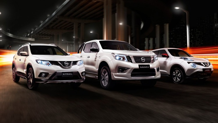 Nissan N-Sport special edition models.