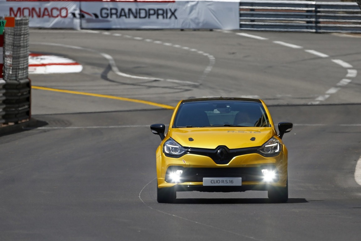 Renault Clio RS 16 concept is powered by the same engine as the Megane RS275.