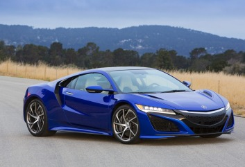 Ready for action: the Honda NSX will arrive in Australia in late 2016.