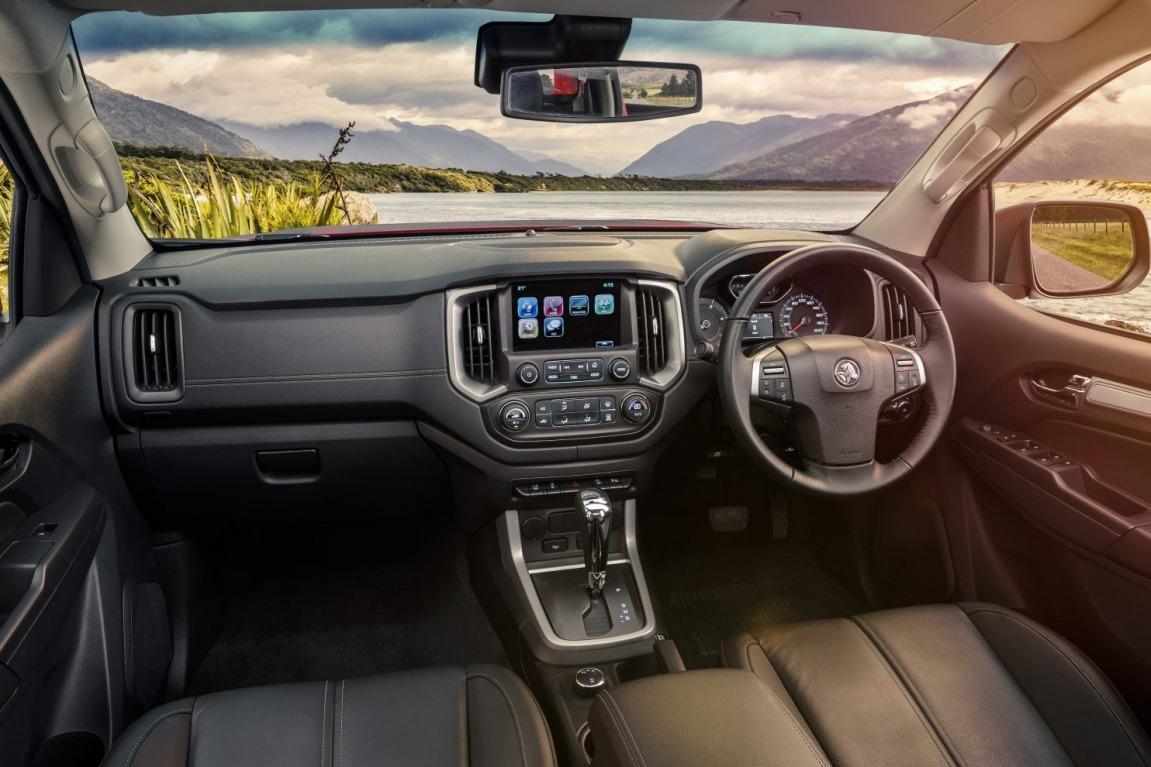 2016 Holden Colorado.