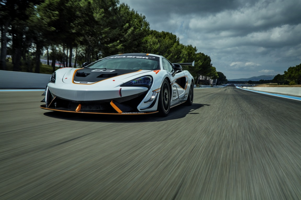 The McLaren 570S Sprint will make its global debut at the 2016 Goodwood Festival of Speed.