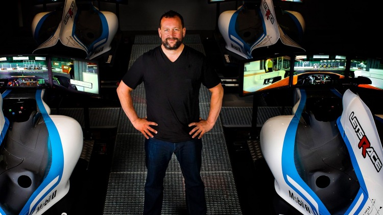 Darren Cox wants to professionalize online racing through eSports.