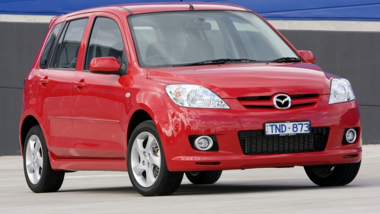 The 2005 Mazda2 Genki will come standard with curtain airbags and anti-lock brakes.