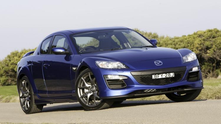 Mazda RX-8 GT.