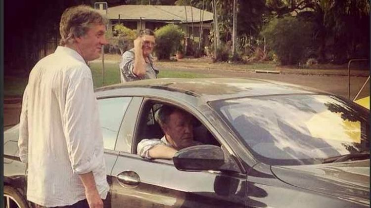 James May and Jeremy Clarkson in Katherine.