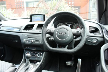 Interior of Audi RSQ3