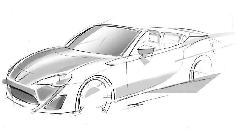 Toyota 86 chief Tetsuya Tada says the car was designed from the outset as a convertible.