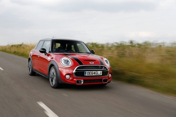 The new Mini 5-door hatch.