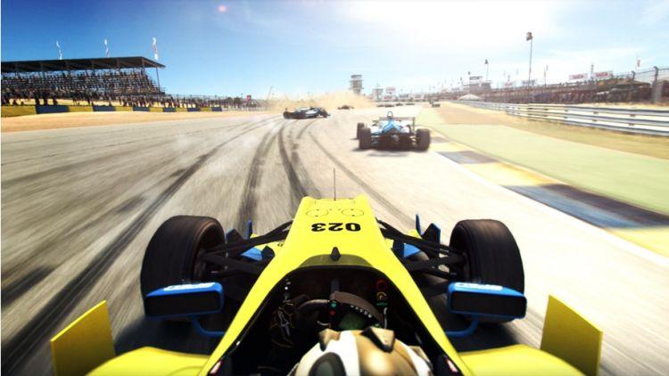 Grid Autosport computer game.