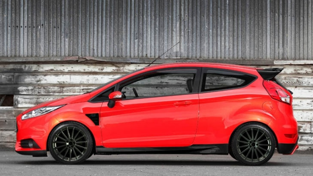 How the Ford Fiesta RS could look. Illustration: Lucas Kennedy.
