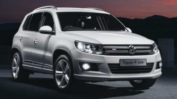 Volkswagen's Tiguan R-Line  lends a sporty flavour to the popular SUV.