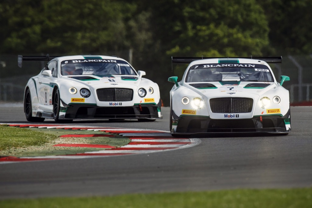 Bentley sent a pair  of its Continental GT3 racers to the 2015 Bathurst 12 Hour.