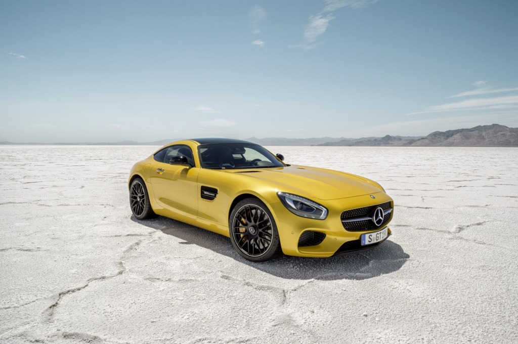 AMG's new V8 engine has been designed to accommodate a hybrid system for future models.