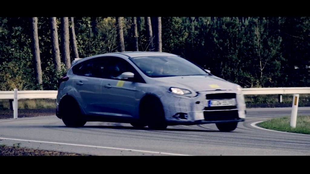 Coming soon: the Focus RS will be formally unveiled in early February.