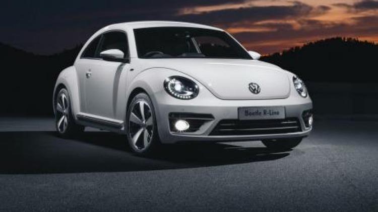 Cute or mean?: The Volkswagen Beetle R-Line.