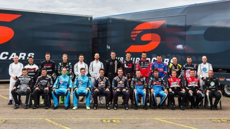 Class of 2015: The V8 Supercar field.