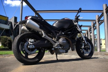 Ducati Monster 659 first ride review