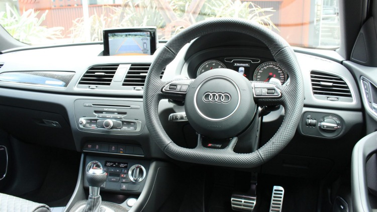 Audi RSQ3 interior.