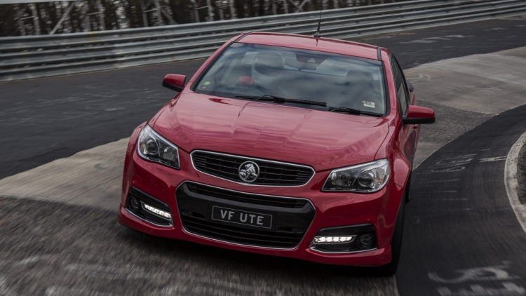 A Holden SS ute has reportedly been given new life as a Corvette test mule.