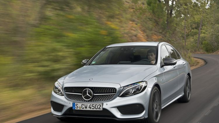 Mercedes-Benz C450 AMG first drive review