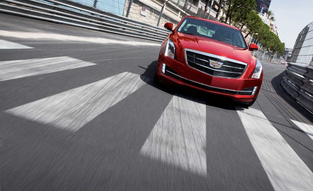 The 2015 Cadillac ATS sedan.