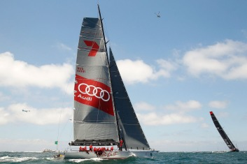 Audi sponsored Wild Oats XI in the 2014 Sydney to Hobart classic.