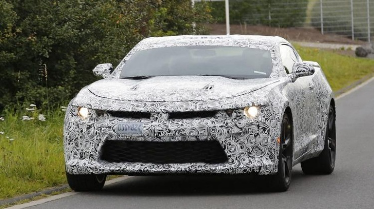 Coming soon: the 2016 Chevrolet Camaro will be revealed in full on May 16.