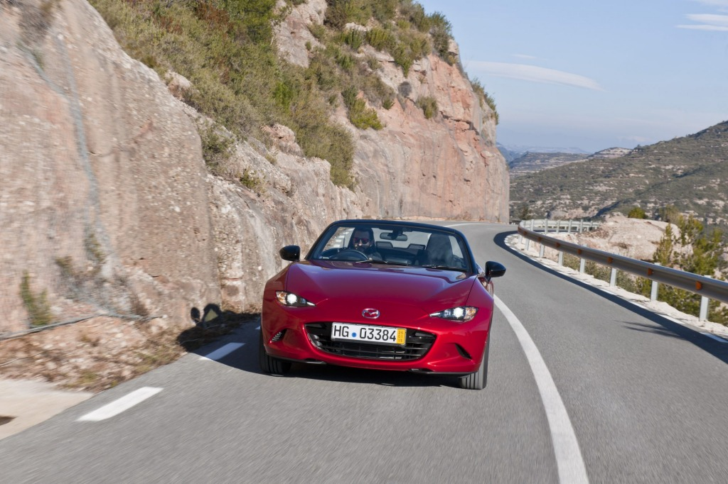 Mazda is aiming to attract younger buyers with a two-tiered range for the all-new MX-5