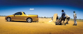 Holden courted controversy in the past with daring advertisements for the V8-powered SS.