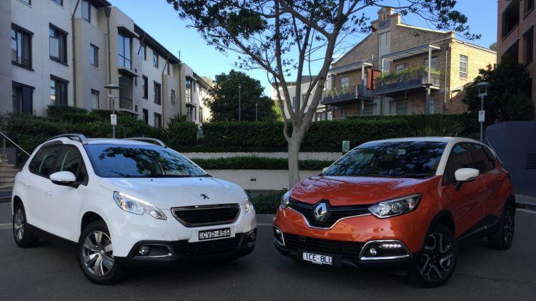 Peugeot 2008 and Renault Captur