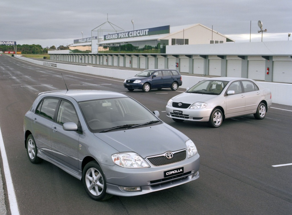 Toyota has issued a further recall notice involving 180,000 vehicles, including the 2003-2007 Corolla (pictured)