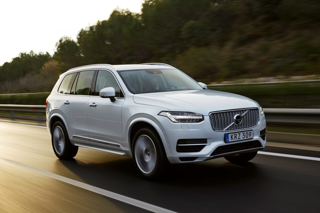 Volvo's XC90 SUV is the first new car developed by the Swedish brand under the guidance of Chinese company, Geely