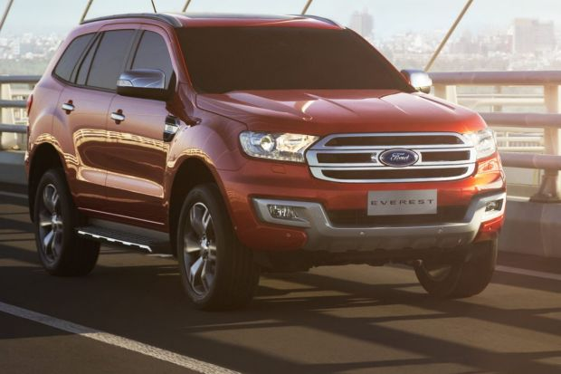 Ford unveils technology behind new Everest SUV