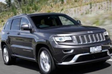 Big and bold: the new Jeep Grand Cherokee Summit Platinum.