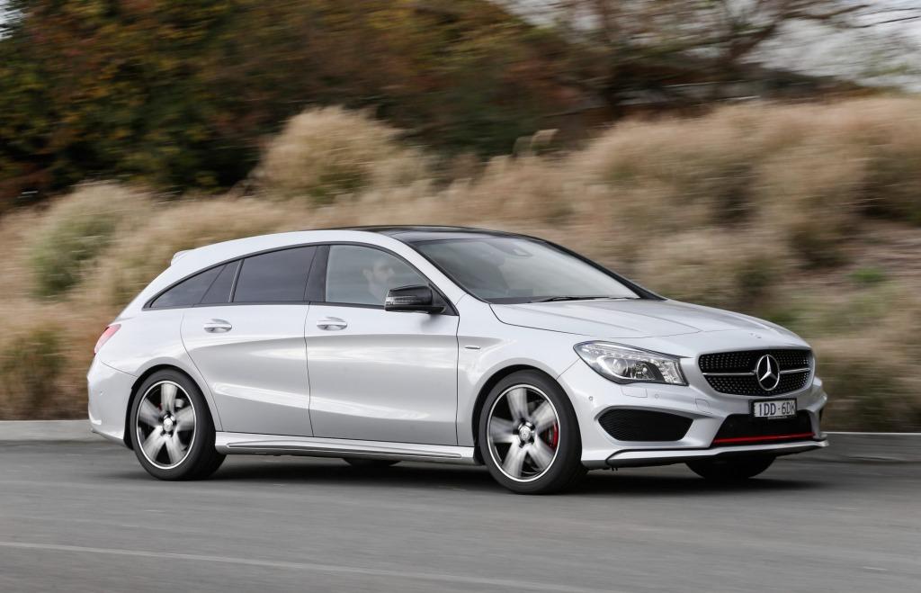 2015 Mercedes-Benz CLA shooting brake